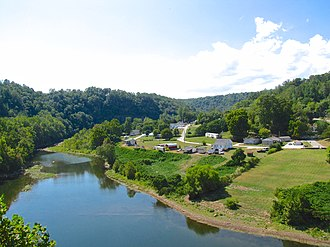 Morgan County, Tennessee - Emory River at Oakdale