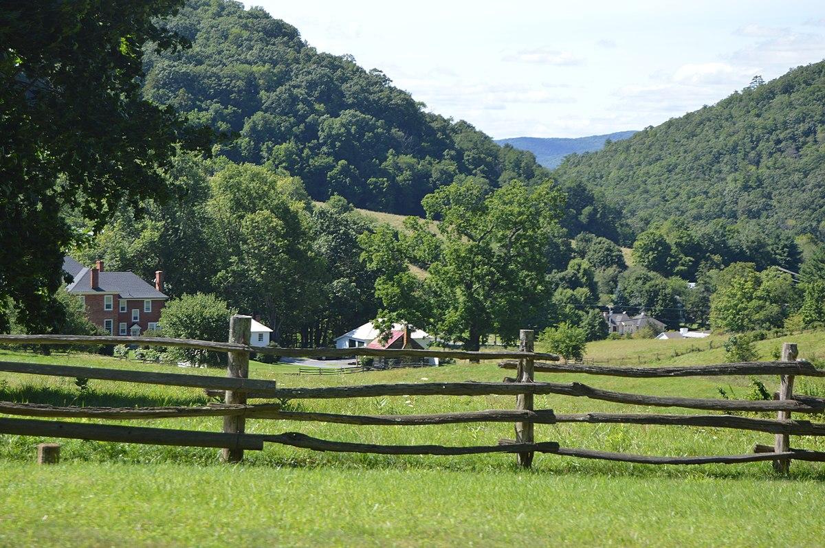 Oakley Farm Warm Springs Virginia Wikipedia