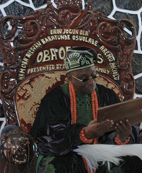 Image result for Akiolu, Oba of Lagos coronation ceremony