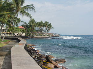 Oceanfront south of Huliheʻe Palace