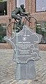 Odiel Defraeye memorial in Rumbeke, Belgium (DSCF0017).jpg