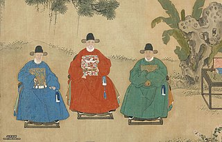 Headwear of Han Chinese official during Ming dynasty