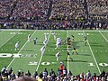 Ohio State vs. Michigan football 2013 08 (Michigan on offense).jpg