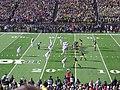 Ohio State vs. Michigan football 2013 08 (Michigan on offense).jpg