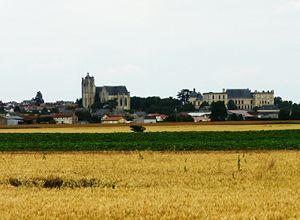 Oiron - A general view of Oiron