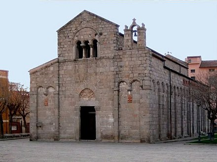 Church of Saint Simplicius at Olbia, constructed by Torchitorio. Olbia San Simplicio.jpg