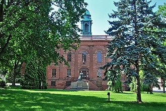 Lafayette Park Historic District - Image: Old Albany Academy 1