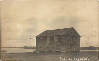 Adolphustown - Old Hay Bay Church, c. 1908