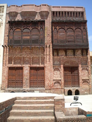 English: Old Style Pakistani Home