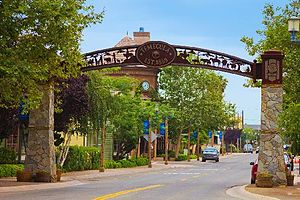 Temecula, California - Image: Old Town Temecula Entrance