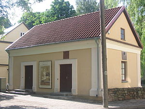 Panevėžys - The oldest house in Panevėžys (1614)