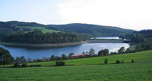 Sauerland - Biggesee between Olpe and Attendorn
