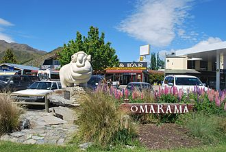 Omarama - Omarama was traditionally a wool growing area