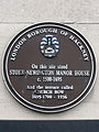 On this site stood Stoke Newington Manor House c.1500 – 1695 And the terrace called Church Row 1695-1700 – 1936.jpg