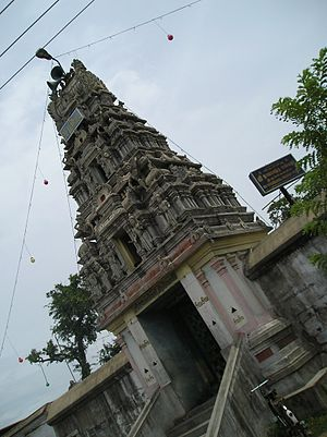Ona Kantheeswarar Temple - Image of the Onakanthan temple gopuram