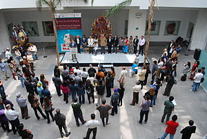 Museo de Arte Popular - Opening of an exhibit dedicated to the handcrafts of Hidalgo in 2011.