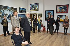 Opening of an exhibition of Leonid Shchemelyov 23.01.2015 04.JPG