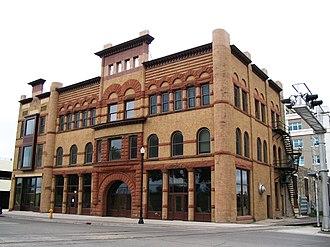 Metropolitan Opera House (Grand Forks, North Dakota) - Image: Opera house 1891