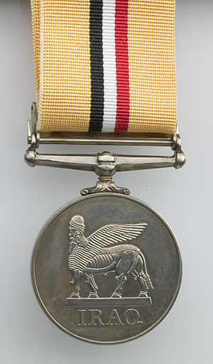 Operation Telic - Image: Operation Telic Campaign Medal for Service in Iraq