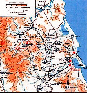 Operation Thayer - Operation Irving, South Vietnam, October 1966.