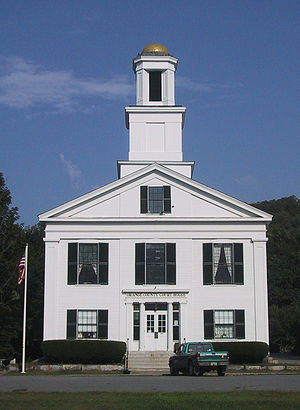 Chelsea, Vermont - Orange County Court House in Chelsea, Vermont