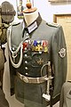 Ordnungspolizei parade uniform, German WW2 police officer, Oberfeldartz, aiguillettes, Iron Cross, Ehrenkreuz, Dienstausz. 1913-24, Polizei-Dienstausz., Hung.&Bulg. WWI com. medals, Kriegsverdienstkr. sword Kurt Stage Lofoten Krigsminne.jpg
