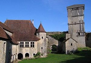 Haute-Saône - Image: Oricourt haute cour