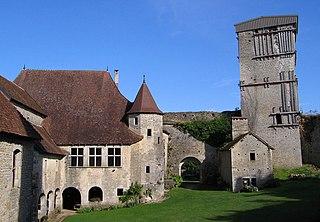 Château d'Oricourt замки и достопримечательности Франш-Конте и Франции