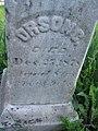 Orson C. Chamberlain's Grave in Orson, Pennsylvania, Cemetery.JPG