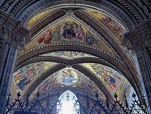 Ceiling of the San Brizio Chapel,