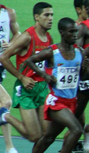 Ali Abdalla - Ali Abdalla (right) in 2007