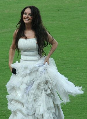Sarah Brightman - Sarah Brightman at the World Athletics Championships in Osaka in 2007