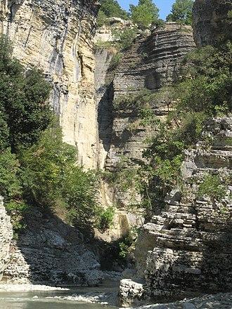 Çorovodë - Osum Canyon