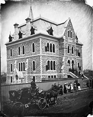 Lisgar Collegiate Institute - Ottawa Collegiate Institute c. 1875 – 1880