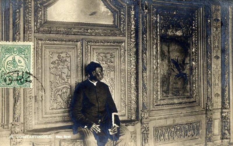 Ottoman eunuch, 1912