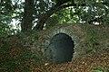 Oude taxus en ingang tot de fruitkelder in het kasteelpark van Wespelaar - 369512 - onroerenderfgoed.jpg