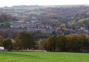 Oughtibridge - Image: Oughtibridge from east