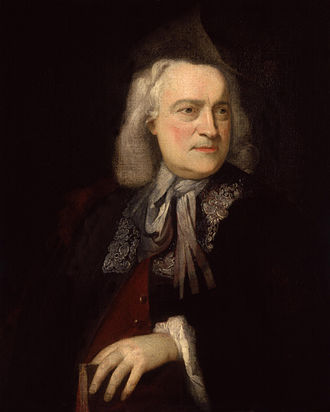 Teseo - Owen Swiny by Peter van Bleeck, 1737 (National Portrait Gallery).
