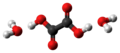Oxalic acid dihydrate molecules ball from xtal.png