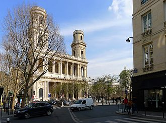 Place Saint-Sulpice - Image: P1090416 Paris VI place Saint Sulpice rwk