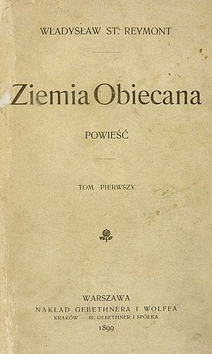 The Promised Land (novel) - Front page, first edition print