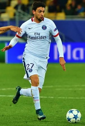 Javier Pastore - Pastore playing for Paris Saint-Germain in 2015