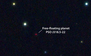 PSO J318.5-22 - The location of PSO J318.5-22