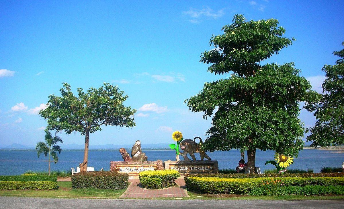 Pa Sak Jolasid Dam - Wikipedia