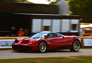 Pagani Huayra - Pagani Huayra at the 2014 Goodwood Festival of Speed