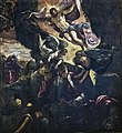 Paintings by Tintoretto in Scuola Grande di San Rocco - The Resurrection of Christ.jpg