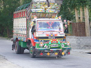 Pakistan's Colourful Trucks