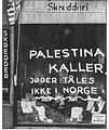 Palestine calls, Oslo 1942.jpg