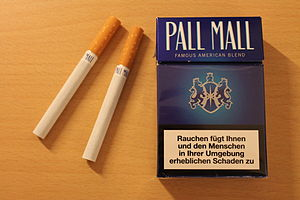 Pall Mall (cigarette) - Pall Mall packet