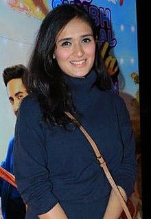 Pankhuri Awasthy Indian television actress